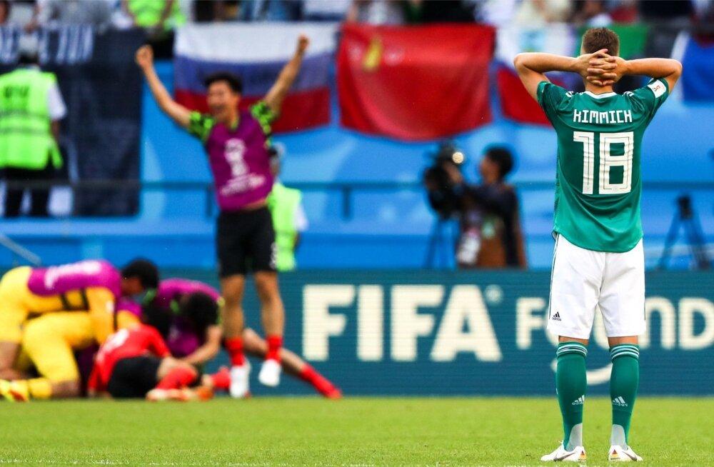Lõuna-Koreast sai esimene Aasia riik, kes suutnud MM-finaalturniiril tiitlikaitsjat võita. Edasipääsu see neile aga ei toonud.
