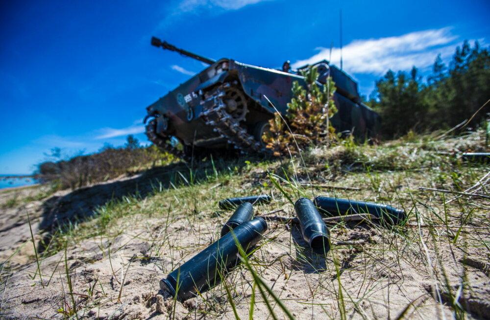 Scoutspataljoni kogemused CV90-soomukitega