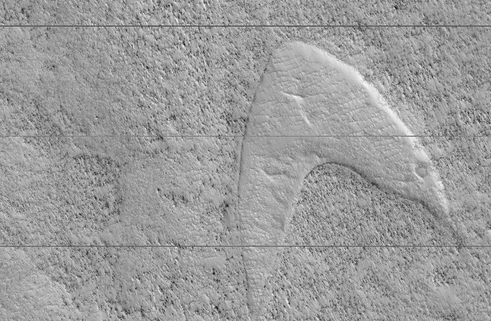 NASA kosmosesond leidis Marsilt tuntud kosmosesarja logo