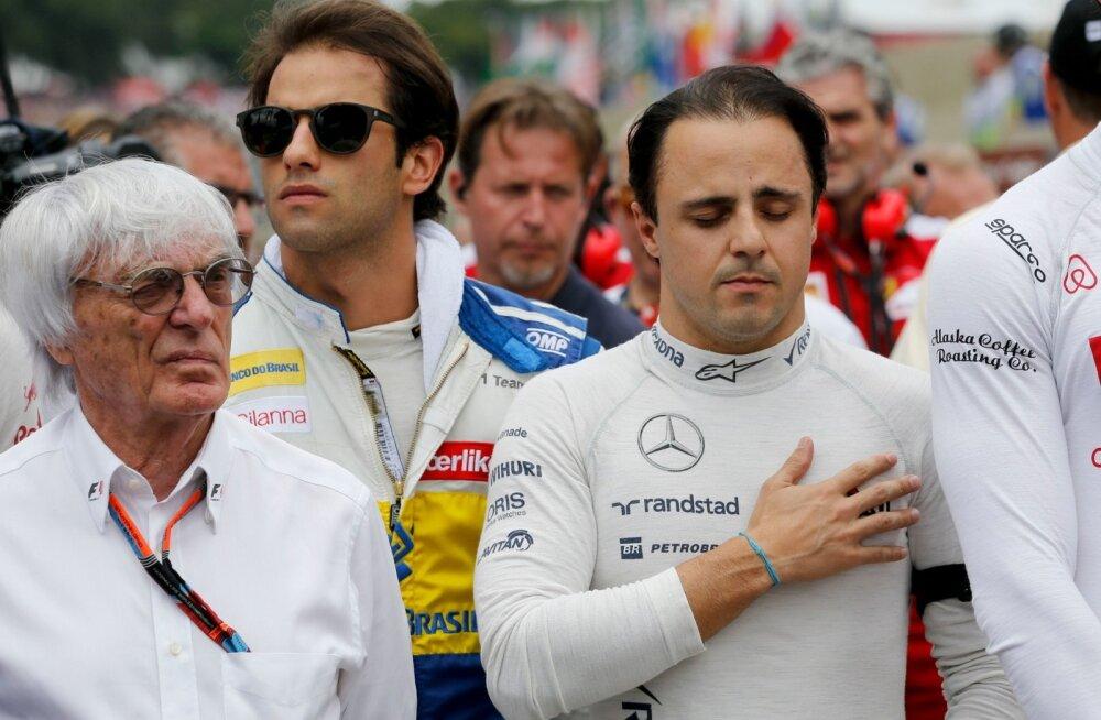 Felipe Massa, Bernie Ecclestone