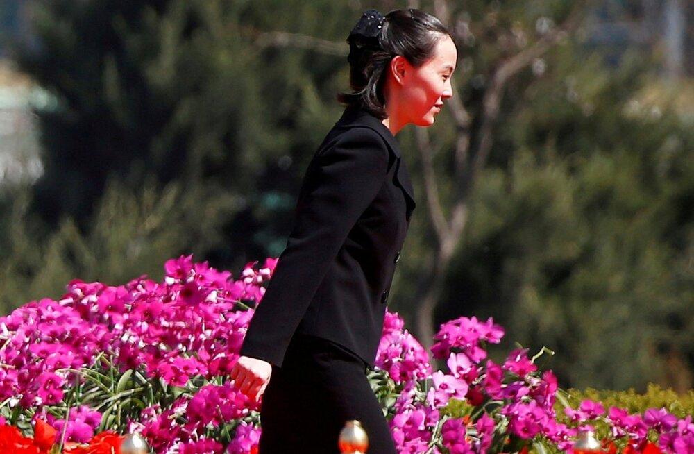 Lõuna-Koread külastab olümpiamängude puhul ka Põhja-Korea valitseja Kim Jong-uni õde