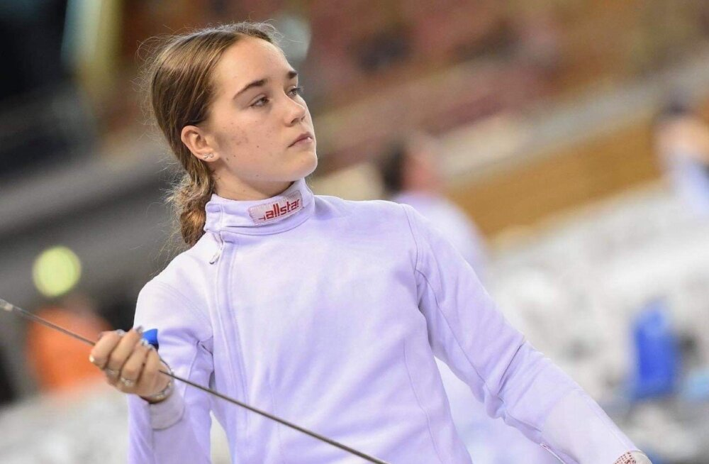 Esimese asetuse teeninud Eesti vehkleja sai Prantsusmaal 9. koha