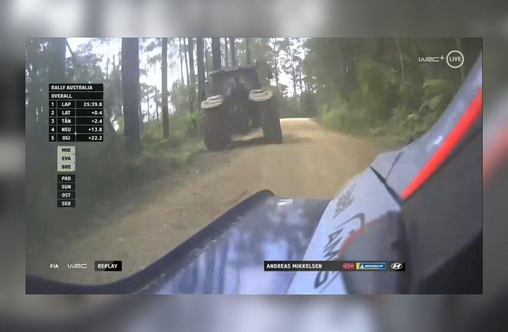 WRC-sarjas hakatakse kasutama uudset tehnikat? Mikkelseni traktoriintsident on FIA surve alla pannud