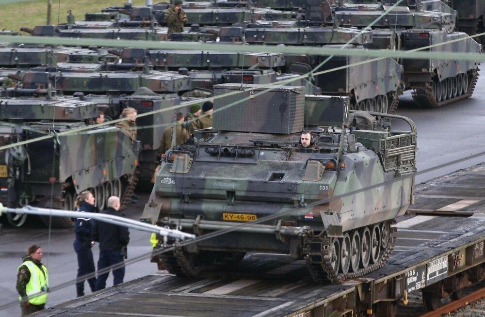 USA sõjalised juhid kardavad, et NATO jõud jääksid sõjaohu korral Venemaaga kinni liiklusummikusse