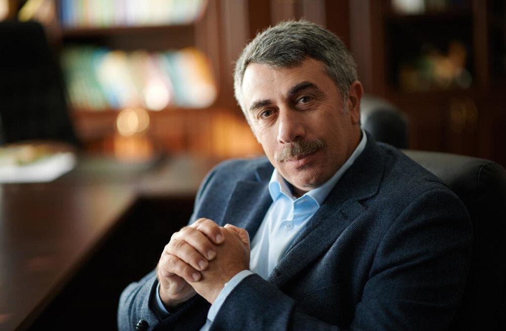 В октябре в Таллинн приедет один из самых известных и авторитетных педиатров — Евгений Комаровский