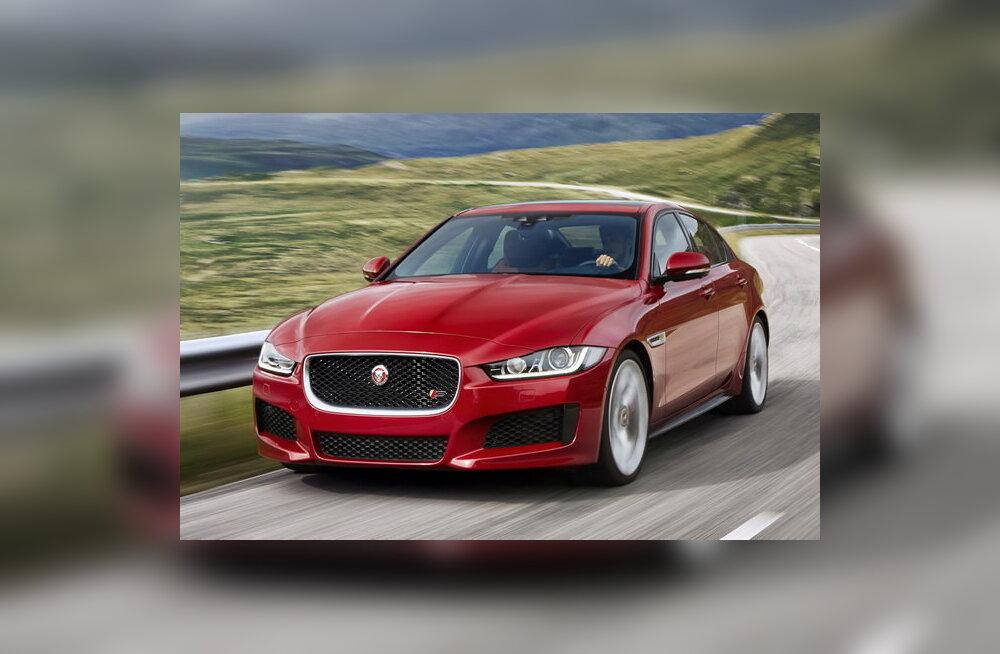 Jaguar tutvustas XE sedaani