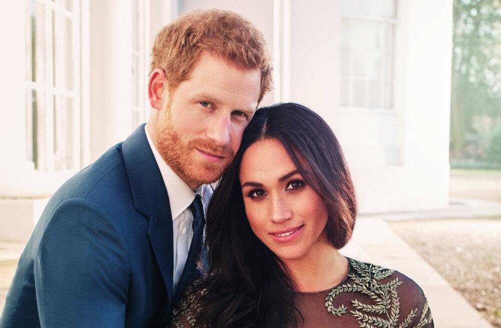 FOTOD   Intiimne ja kaunis! Prints Harry ja Meghan Markle avaldasid ametlikud kihlusfotod
