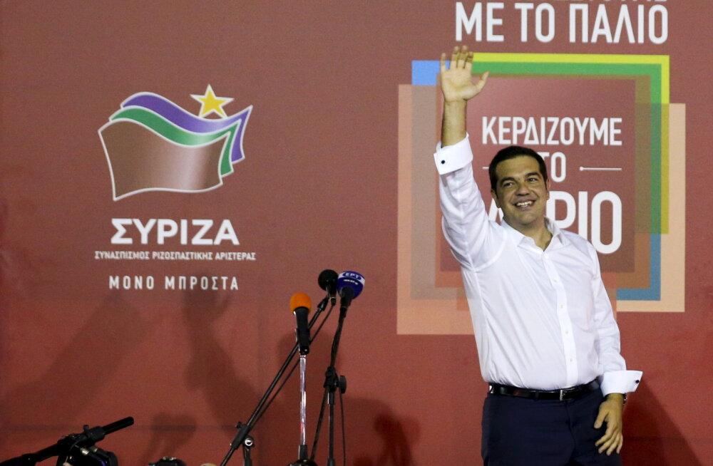 Syriza efekt: 40% Kreeka ettevõtetest soovib riigist lahkuda
