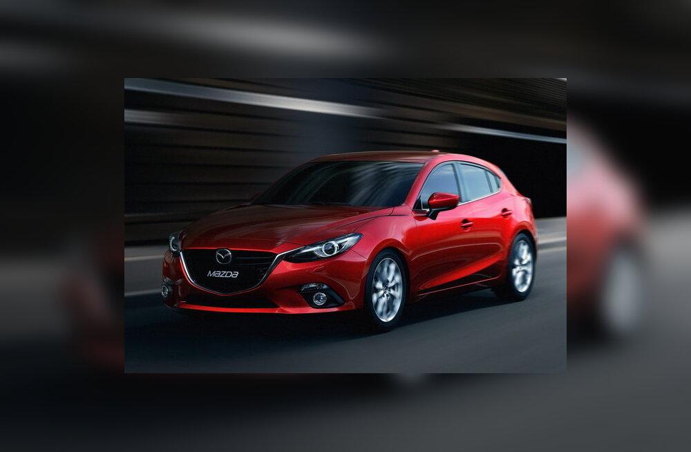 Mazda avaldas uue Mazda3 luukpära