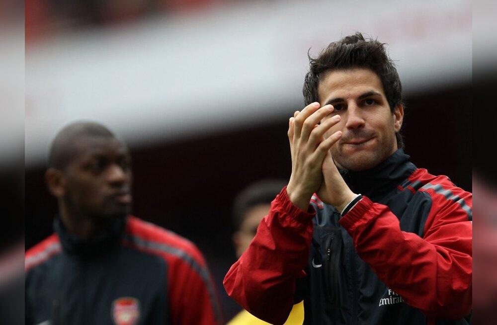 Fabregase saaga lõpp: Arsenal nõustus Barcelona pakkumisega