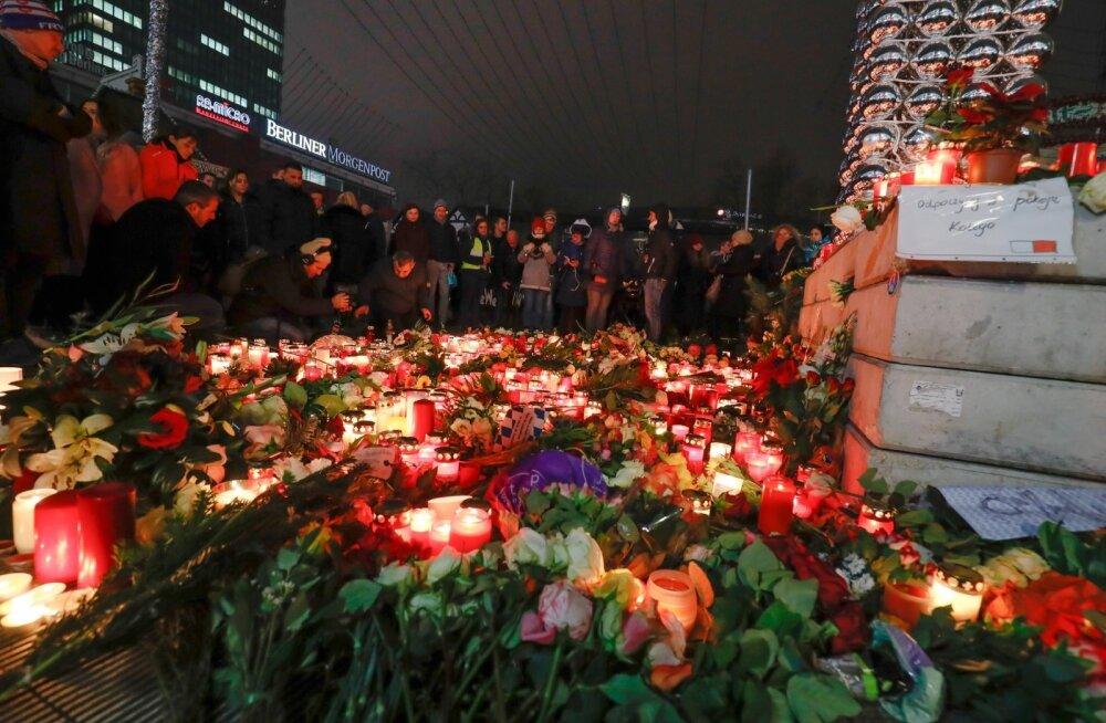 Õhtu Berliinis 24 tundi peale õnnetust