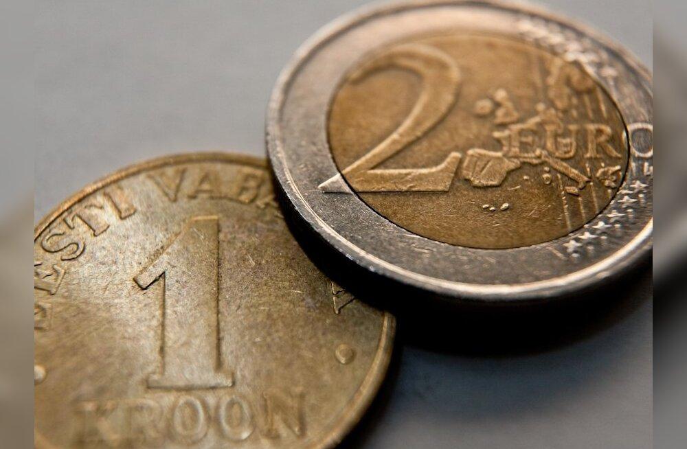 Kroon ja euro