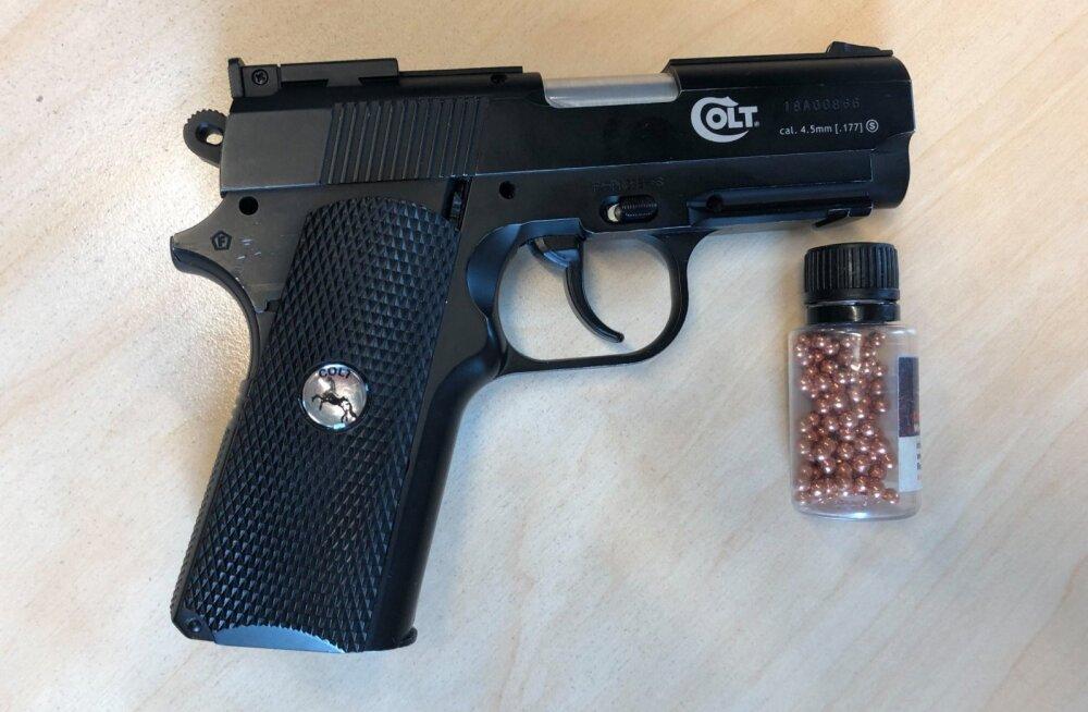 В Кохтла-Ярве драка закончилась стрельбой из пневматического оружия