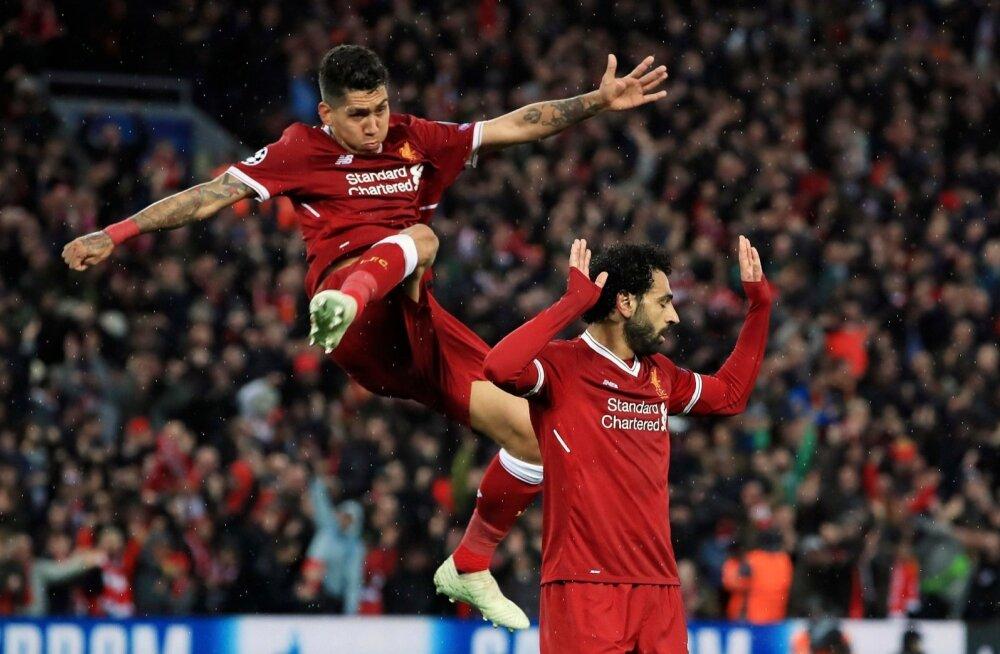 Roberto Firmino (vasakul) ja Mohamed Salah on Liverpooli ründeliidrid ja ka kõige säravamad mängijad.