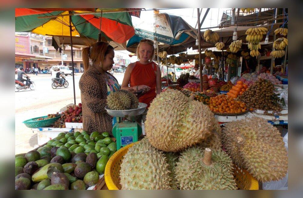 Reisikiri Kambodžast, 17. osa: pimeduse kantsis maitses durian nagu mädasibul