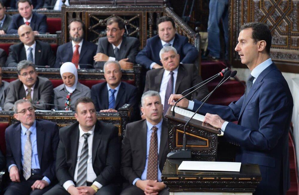Bashar al-Assad lubas vabastada iga tolli Süüriast