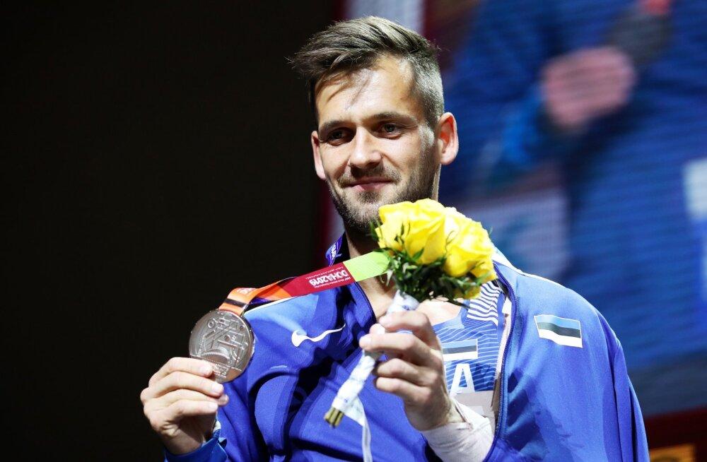 Magnus Kirt loodab, et 2019. aasta MM-hõbedale ja 2018. aasta EM-pronksile tuleb Tokyos lisa.