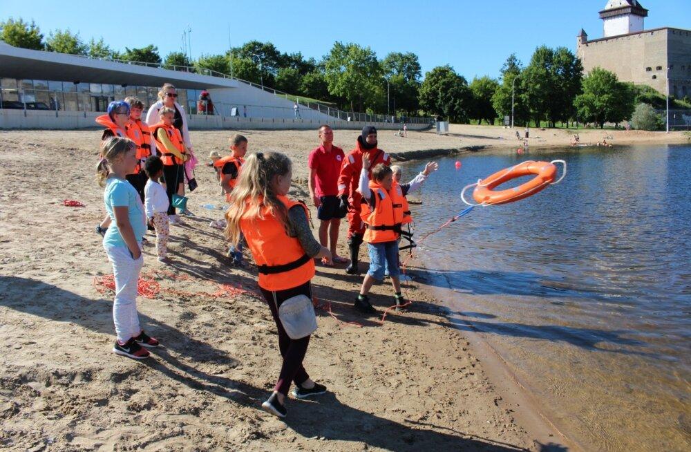 Veeohutuse koolitus, Narva jõgi, Narva-Jõesuu SAR