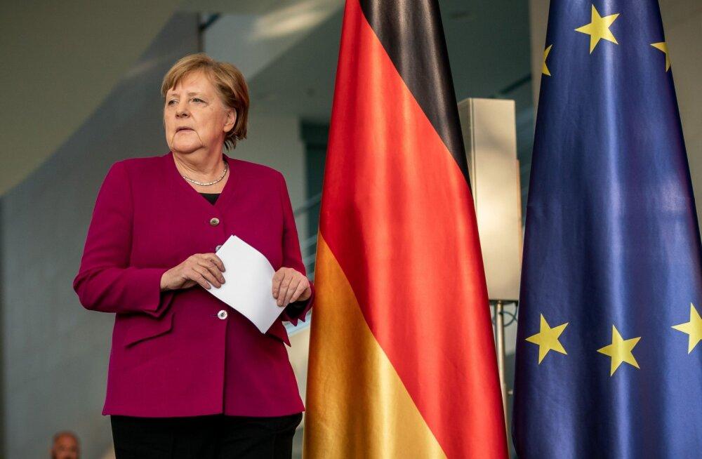 Merkel: EL riikide valitsusjuhid on üksmeelel, et taastefond on vajalik