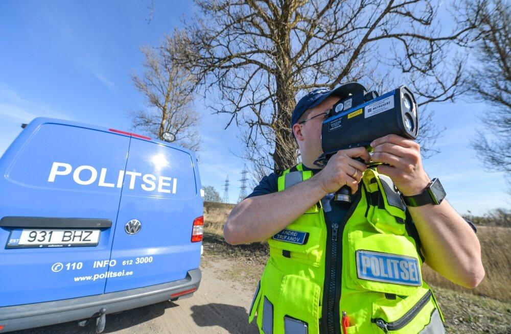 Loe, kus Tallinnas politsei täna kiirusi mõõdab