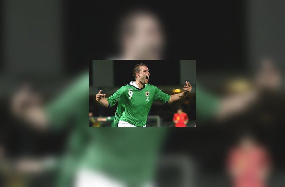 David Healy lõi Hispaania vastu kolm väravat