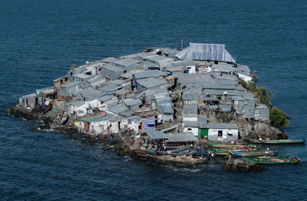 Migingo - vaidlusalune saar, kus rahvastikutihedus on kordades suurem kui mistahes linnriigis