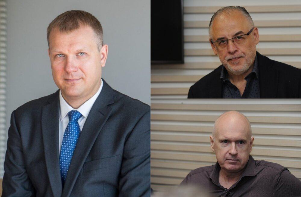 Viktor Särgava, Pavel Gammer ja Hubert Hirv