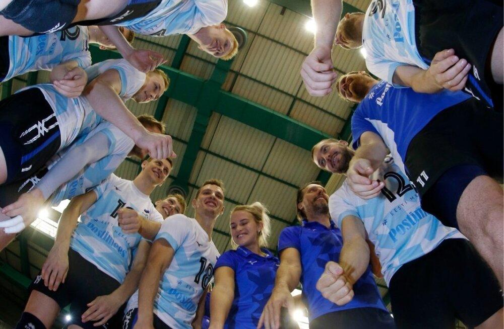 Eesti meeste võrkpallikoondis väärib korralikku tuge.