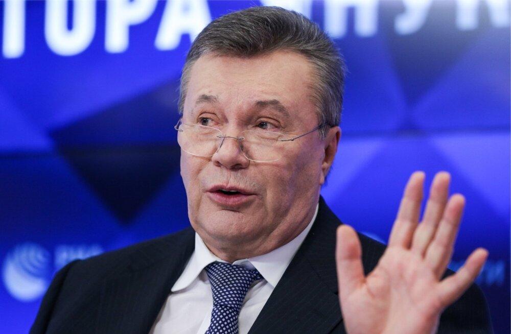 SVT: Ukraina endine president Janukovõtš kasutas Swedbanki altkäemaksuraha liigutamiseks