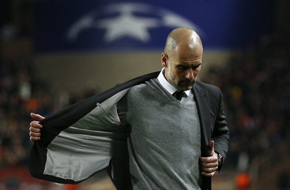 Pep Guardiola: me polnud esimesel poolajal kohal