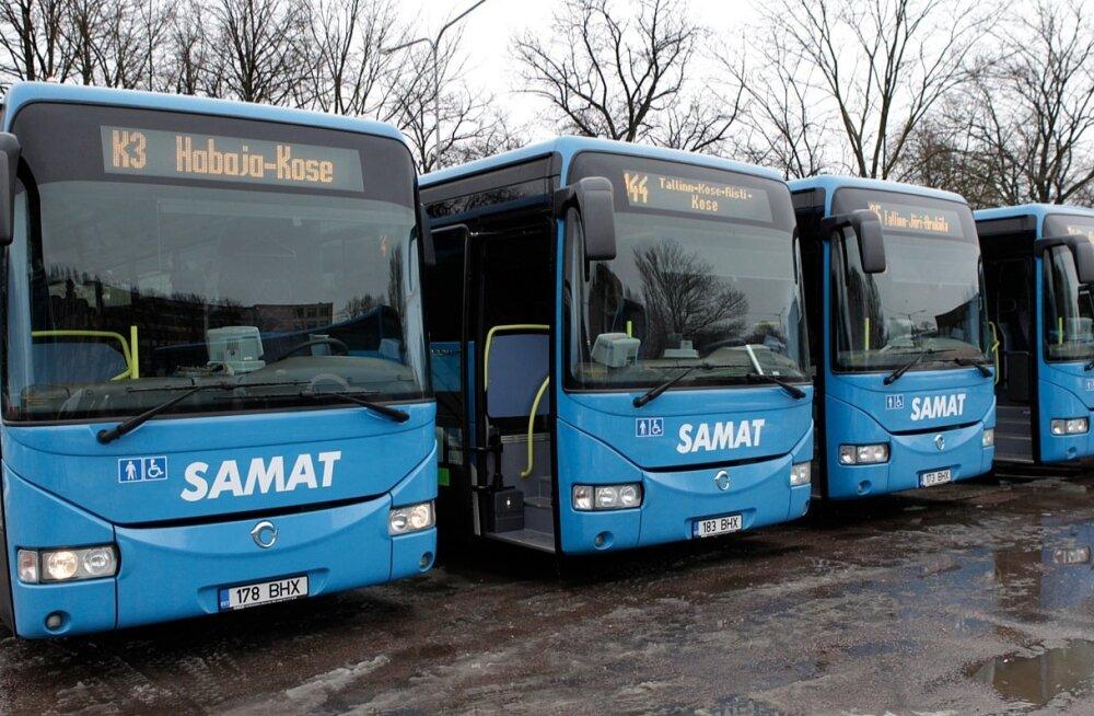 Uued Hispaania liinibussid Harjumaa teedele