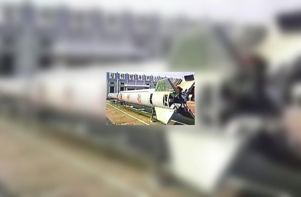USA: Põhja-Korea rakett on stardipositsioonil
