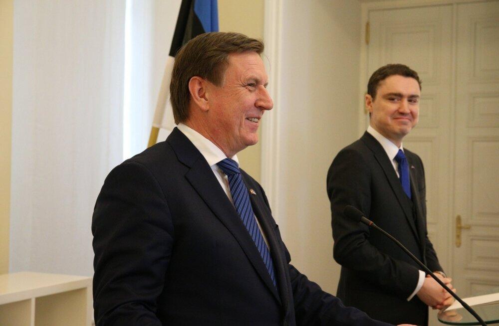 DELFI FOTOD: Rõivas: Eesti tervitab Läti püüdlusi tõsta kaitsekulutusi 2% SKP-st