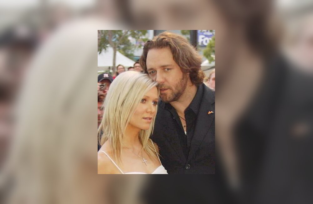 Russell Crowe ja Danielle Spencer