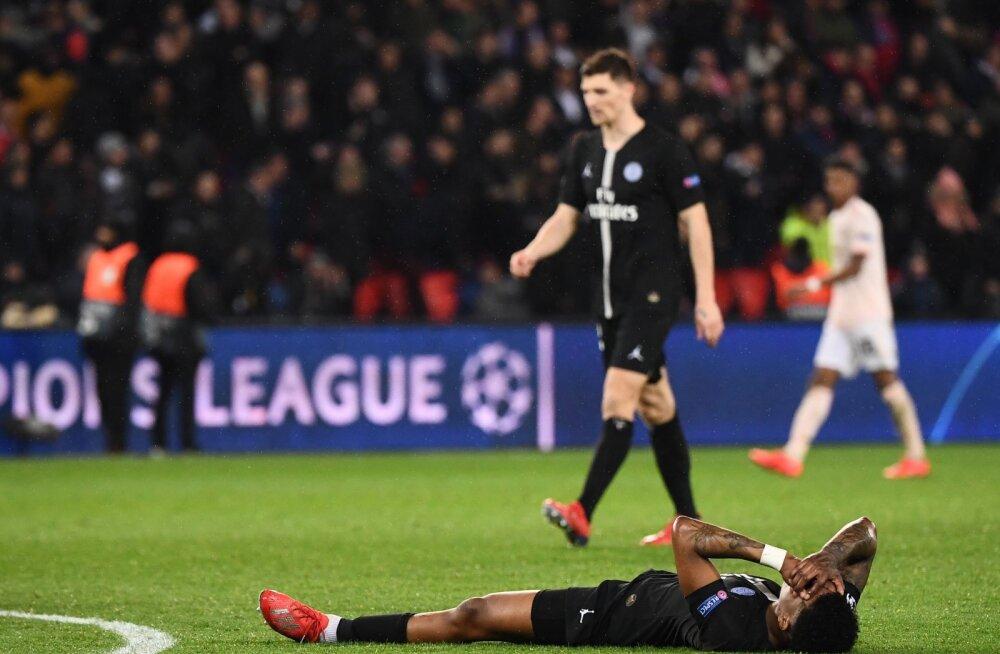 PSG patuoinas Presnel Kimpembe pärast kaotust Unitedile
