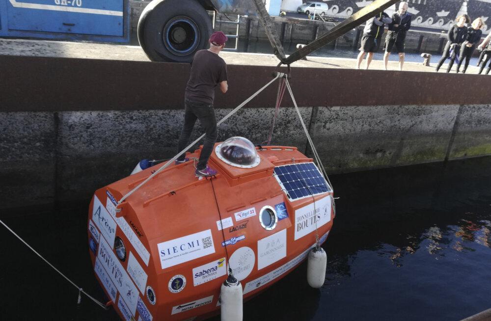 Французский пенсионер переплыл Атлантику в бочке. На это ему потребовалось 122 дня