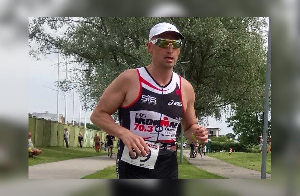 FOTO | Märt Avandi läbis esimest korda triatloni