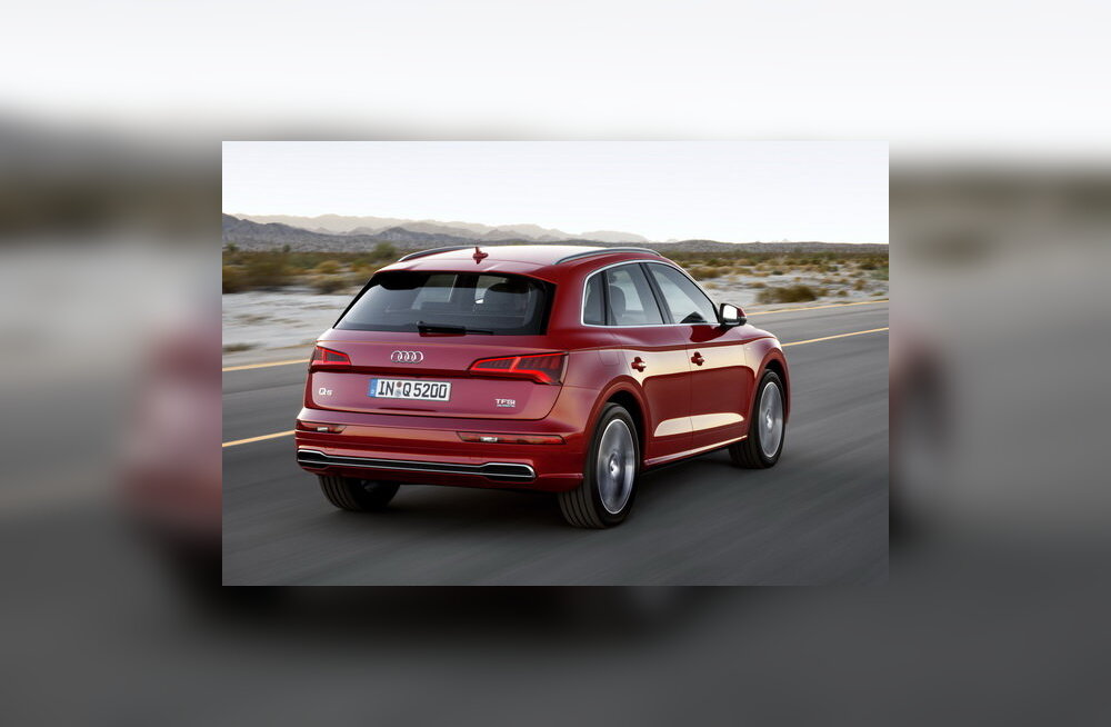 Audi Q5: tüüpiline luuraja kattevari ehk nuriseda ei saa, meelde ka ei jää