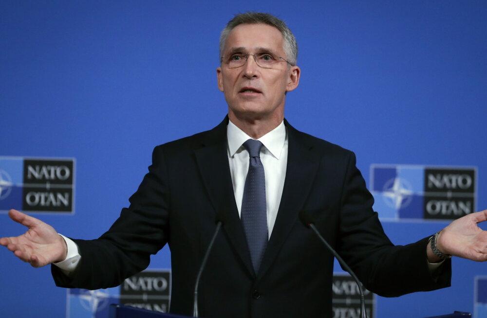 """Peasekretär Stoltenberg sõidab Pariisi Macroniga """"NATO ajusurma"""" arutama"""