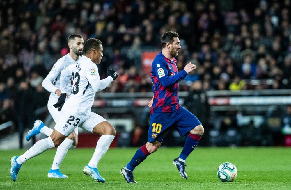VIDEO   Briljantne kombinatsioon tõi Barcelonale uue peatreeneri käe all esimese võidu