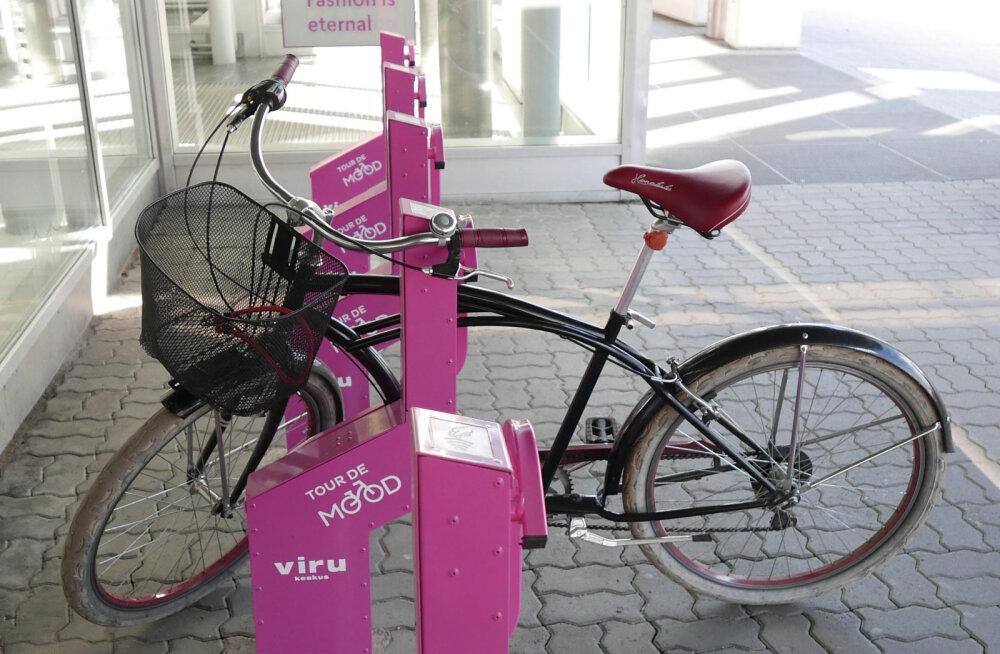 Бесплатно! В сердце Таллинна появилась ультрасовременная стоянка для велосипедов