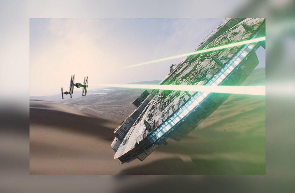 """""""Star Wars: Osa VIII"""" võtted on täies hoos, see pilt tõestab seda!"""