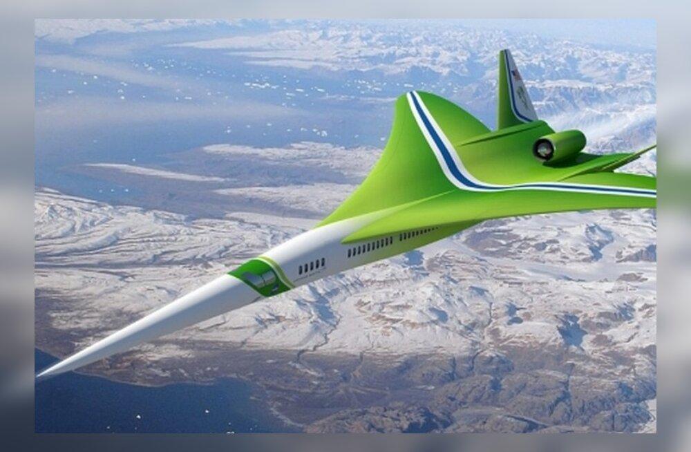 Lennureisid kümne aasta pärast: poole kiiremini kohale poole vähemate reisijatega