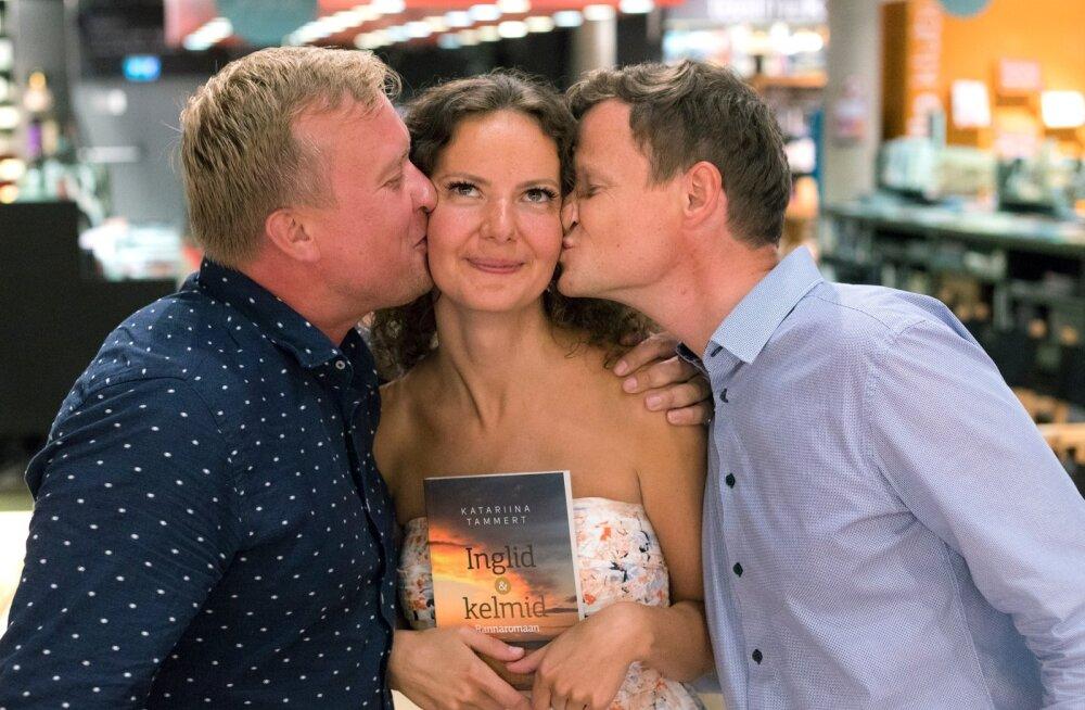 """Katariina Tammerti rannaromaani """"Inglid ja kelmid"""" esitlus"""