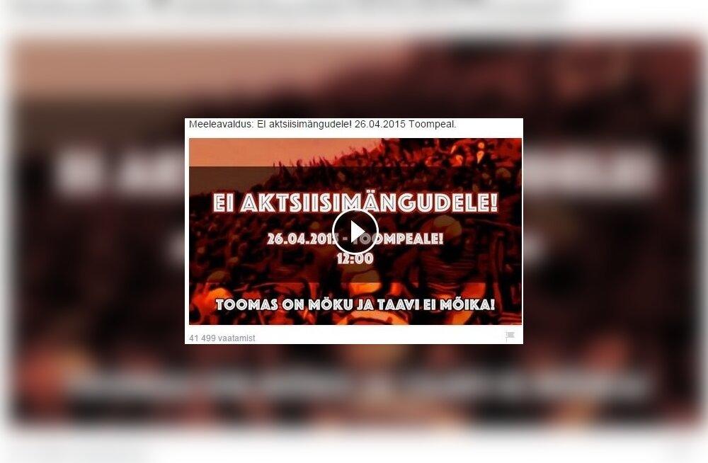 Metsatöll keelab oma muusika kasutamise kütuseaktsiisi vastases videos
