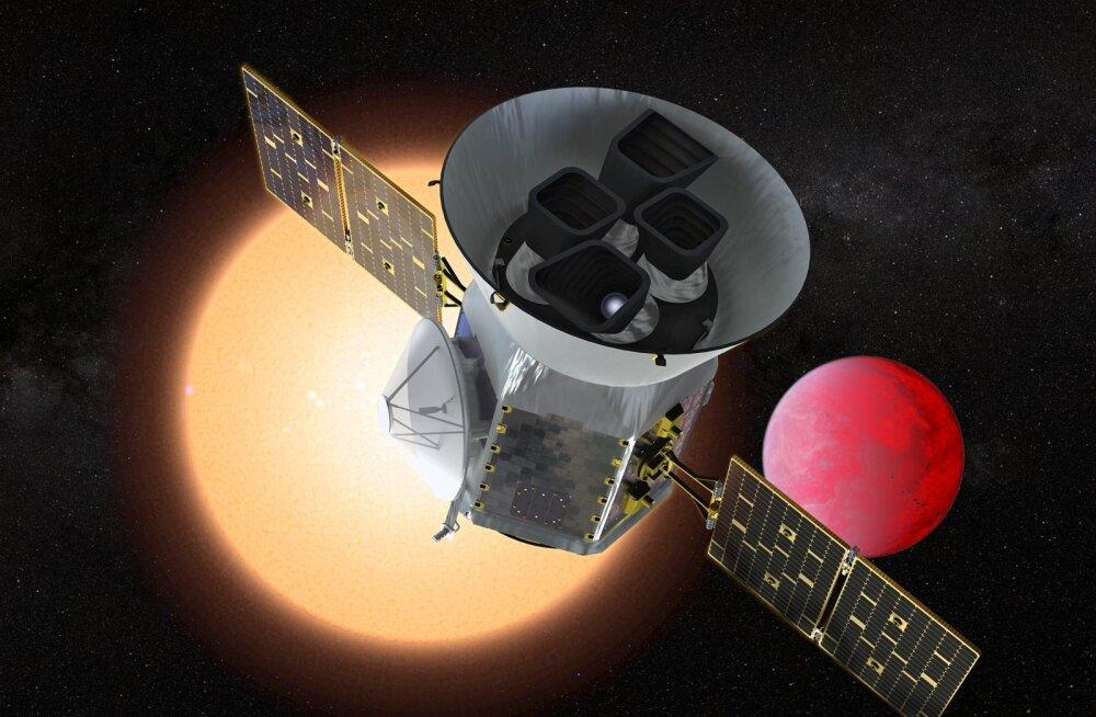 USA kosmoseagentuuri NASA automaatjaam TESS.