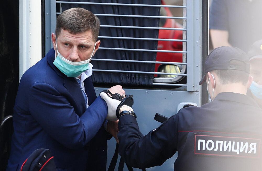Venemaa Habarovski krai žirinovskilasest kuberneri süüdistatakse mõrvade korraldamises