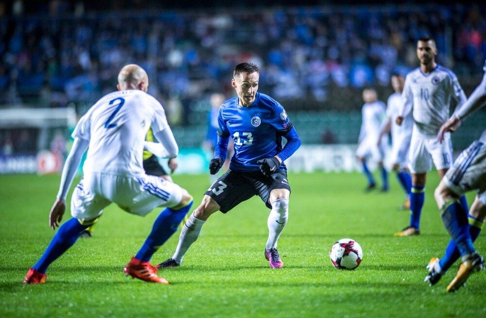 Eesti jalgpallurid välismaal: Mošnikov lõi Soomes värava, Luts andis Tšehhis väravasöödu