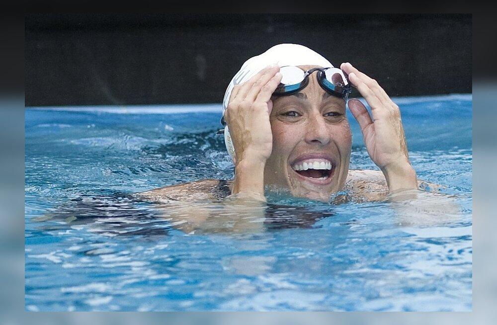 Ujumislegend Janet Evans naaseb 40-aastaselt tippsporti