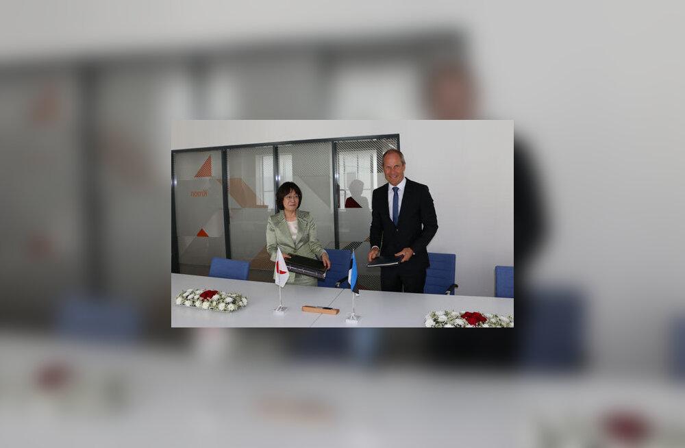 Eesti ja Jaapan allkirjastasid topeltmaksustamise vältimise lepingu